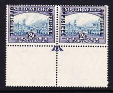SOUTH AFRICA 1935-49 2d BLUE & VIOLET SG O23 MNH.