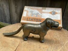 More details for vintage 1920s art deco novelty puppy dog nutcrackers by linton boxed 17