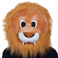 Adult Lion Big Head Mascot Head Fancy Dress Animal Costume Accessory Mask