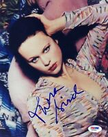 THORA BIRCH SIGNED AUTOGRAPHED 8x10 PHOTO VERY RARE PSA/DNA