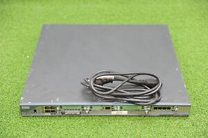 Cisco 2801/K9 2801 w/ VIC-4FXS/DID, VWIC2-1MFT-T1/E1 Router - 1YrWty