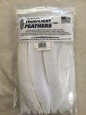 Trueflight Full Length Feathers Left Wing! 100 Pack. White
