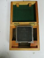 Hilger & Watts T.P. 103 -  90° Penta Prism/Optical Square w/ Wooden Case - NM64