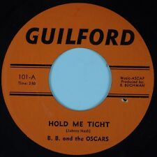 BB AND THE OSCARS: Hold Me Tight / 1,2, 3 Red Light GUILFORD Rock 45
