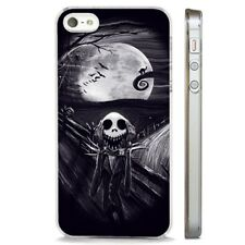 Nightmare Before Christmas Scary CLEAR PHONE CASE COVER fits iPHONE 5 6 7 8 X