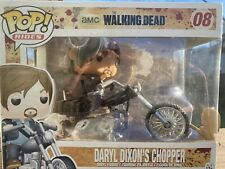 Funko Pop! Rides The Walking Dead Daryl Dixon Chopper Motorcycle #08 VAULTED
