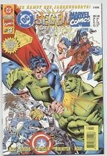 DC / MARVEL CROSSOVER # 3 + POSTER - KAMPF DES JAHRHUNDERTS - LOBO - DINO 1996
