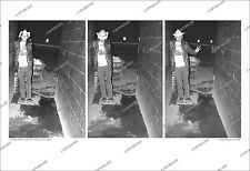 Hank Williams III 3rd Ltd.Ed. NUMBERED 3-FRAME PHOTO SEQUENCE from original negs
