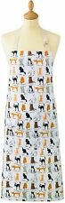 NWT Cats in the Kitchen 100% Cotton Cooking Baking Apron by Cooksmart England