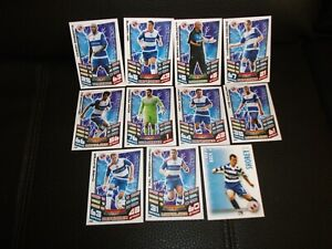READING FC : JOB LOT of 11 Assorted Football Trade Cards