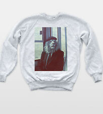 Lion Man Vintage Pipe Sweat Retro Style Portrait Novelty Jumper Indie Unisex Top