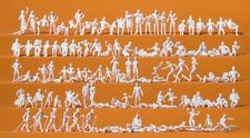 Preiser 16357 Leisure Time at the Lake (Pk120) Unpainted Figures HO Gauge