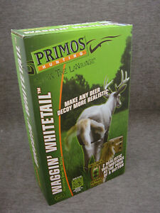 Primos Hunting Waggin Whitetail Remote Moving Deer Decoy Tail Unused In Box