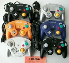 Nintendo GameCube Controllers Official OEM Good Sticks Black Orange Purple Smash