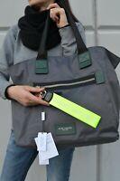 NWT Marc by Marc Jacobs LOGO Webbing Charm Bag Strap Neon Yellow
