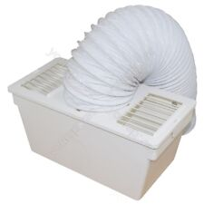 Universal Tumble Dryer Condenser Vent Kit Box With Hose - Fits All Makes.