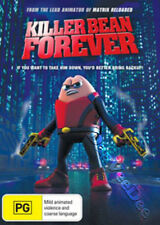 Killer Bean Forever NEW PAL Kids Family DVD Jeff Lew Vegas E. Trip Bryan Session