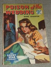 1955 First edition Poison at the wedding by Diane Atherton  English Paperback