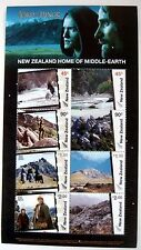 2004 NEW ZEALAND LORD OF THE RINGS STAMPS HOME OF MIDDLE EARTH SHEET OF 8 FRODO