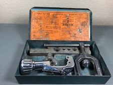 Vintage Imperial Brass Tool Kit No.93-FB Double Flaring Tool Set Made in USA