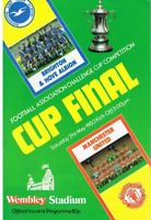 MANCHESTER UNITED v BRIGHTON 1983 FA CUP FINAL PROGRAMME MINT