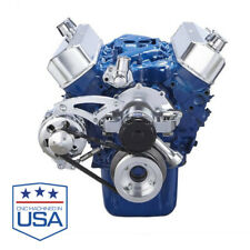 Small Block Ford 289 302 SBF Serpentine Kit Electric Water Pump, Alternator