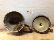 Antique Vintage Tail Light Cover w Swivel Bracket & Drivers Light Cover NO LENS