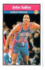 John Salley 1992-93 Detroit Pistons Basketball Italian Panni Sticker card