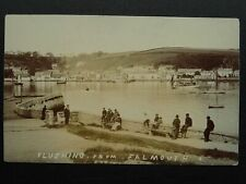 More details for rare cornwall falmouth flushing & fisherman - old rp postcard by e.a. osborne