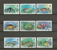More details for turks & caicos islands 1978/83 sg 514b/28b mnh cat £25