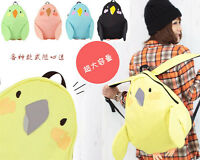 Cute Japanese High Capacity Kawaii Parrot Shoulders Bag  Laptop Bag Cloth Bag @@