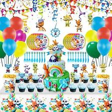 105 Pcs Word Party Birthday Decorations Animal Themed Party Supplies for kids