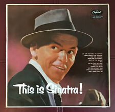 Frank Sinatra LP This Is Sinatra! Capitol LCT6123 Cover VG, Vinyl Unmarked EX+
