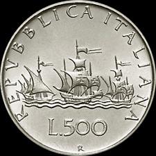 500 LIRE CARAVELLE 1988 FDC  ASSOLUTO DA DIVISIONALE ZECCA ITALY TOP QUALITY