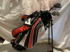 Youth Max Fli Standing Golf Bag And Clubs (7)