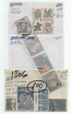 Collection of USA stamps, identified, in glassines  ..  2021 Scott=$100.00