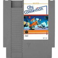 City Connection Nintendo Entertainment System NES Game Cartridge *CLEAN VG