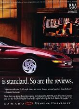 1996 Chevrolet Camaro 2-page Advertisement Print Art Car Ad J806