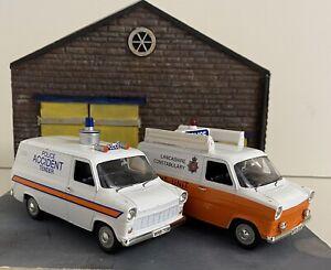 2 Vanguards  Ford Transit MK 1 POLICE VANS
