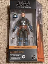 "Star Wars Black Series The Mandalorian BO-KATAN KRYZE 6"" Hard to find"