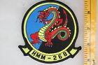 US Vietnam Era Post USMC Marine HMM-268 Medium Helo Dragon Squadron Patch SQ148