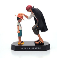 Anime One Piece Four Emperors Shanks Straw Hat Luffy  Action Figure Model Toy