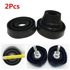 2Pcs Car Headlight LED HID Halogen Seal Cap Dust Cover 55mm/70mm/80mm/90mm/95mm