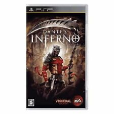 Used PSP  Dante's Inferno SONY PLAYSTATION JAPAN IMPORT