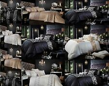 Luxury Duvet Cover Sets With Pillow Cases King Size Double Single Super King