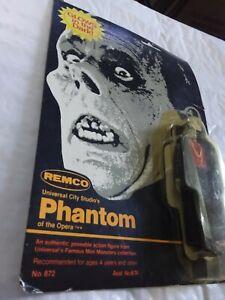 Remco Universal Monsters Phantom of the Opera 1980 Glows Dark Action Figure NEW