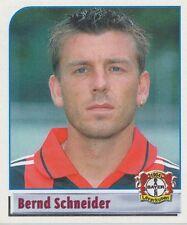 N°290 BERND SCHNEIDER # DEUTSCHLAND LEVERKUSEN STICKER PANINI BUNDESLIGA 2002