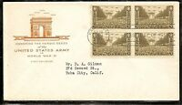 US SC # 934 Army FDC .Cacheted.