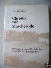 Chronik von Mascherode Entwicklung Rodedorf 1982