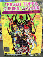 Tengen Toppa Gurren Lagann (VOL.1 - 27 End + 2 MV) ~ English Version ~All Region